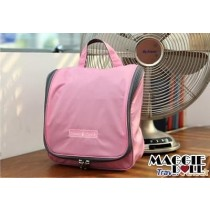Travel Cosmetic Makeup Toiletry Organizer Hanging Wash bag - Pink